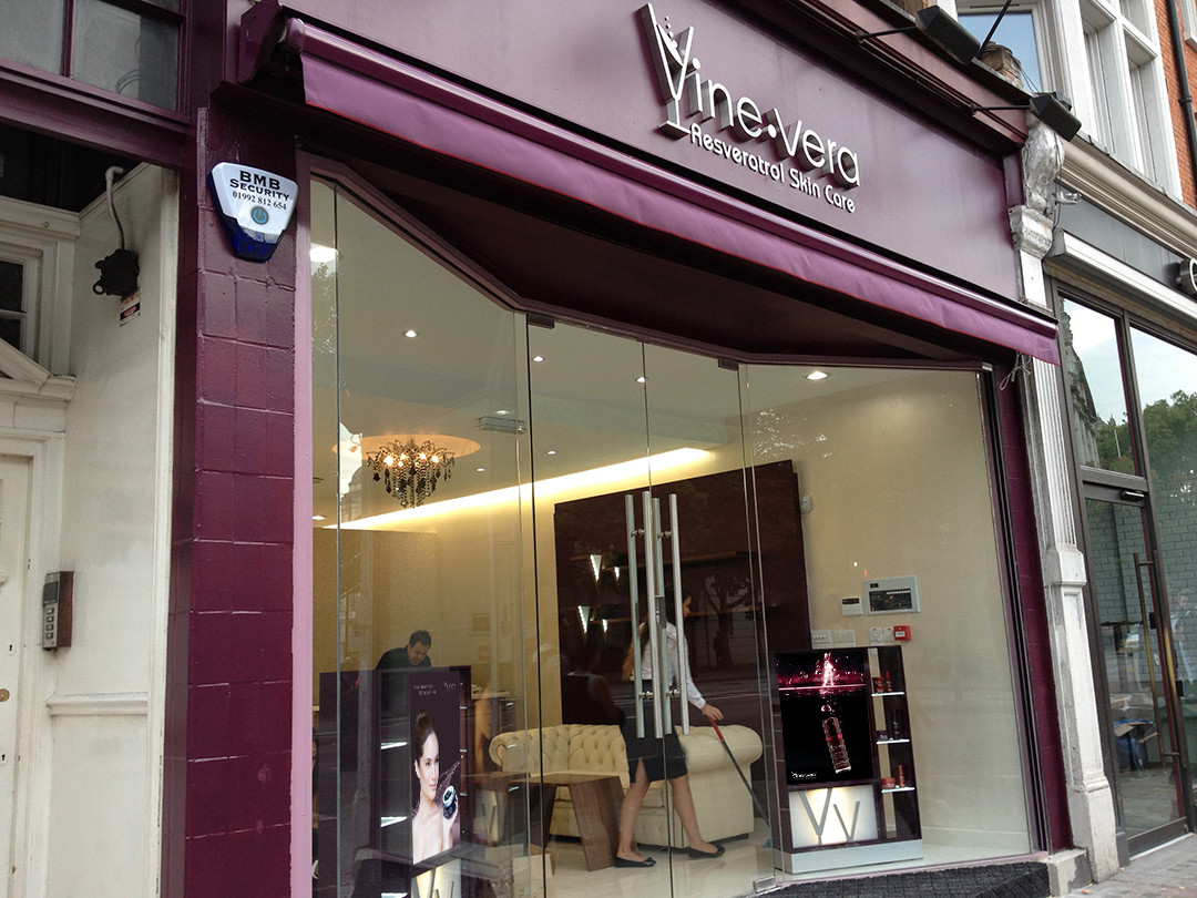 Vine Vera London Location